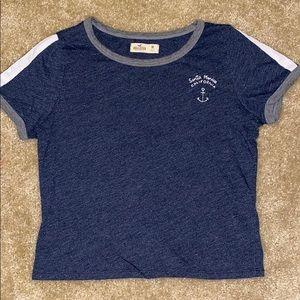 Hollister navy t shirt